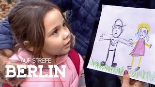 Mutter geklaut: Kind malt Phantombild der Täter | Auf Streife - Berlin | SAT.1 TV