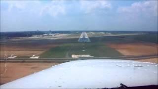 ILS Approach Runway 32, Dothan Alabama (DHN)