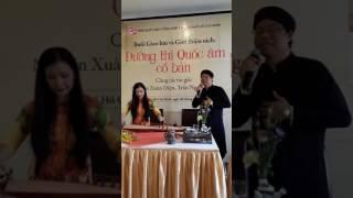 Tiến sĩ  Nguyễn Xuân Diện ngâm giọng Huế bài Tạm biệt (Thu Bồn)