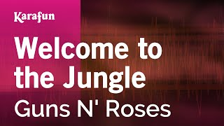 Karaoke Welcome To The Jungle - Guns N