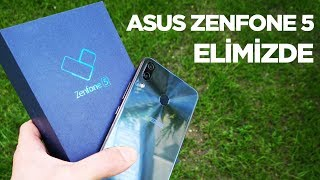 Asus ZenFone 5 elimizde   Kutu açılışı
