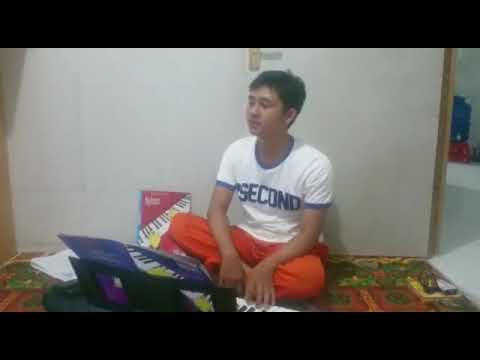 Lagu Air terjun ( fountain ) on keyboard