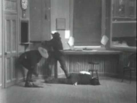 Edwin S. Porter - The Great Train Robbery - 1903 (part 1)