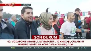 40'ıncısı düzenleniyor. İstanbul Maratonu başladı