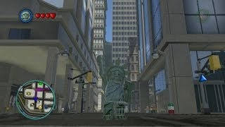 LEGO Marvel Super Heroes - Liberty Gameplay + Free Roam (Statue of Liberty Character)