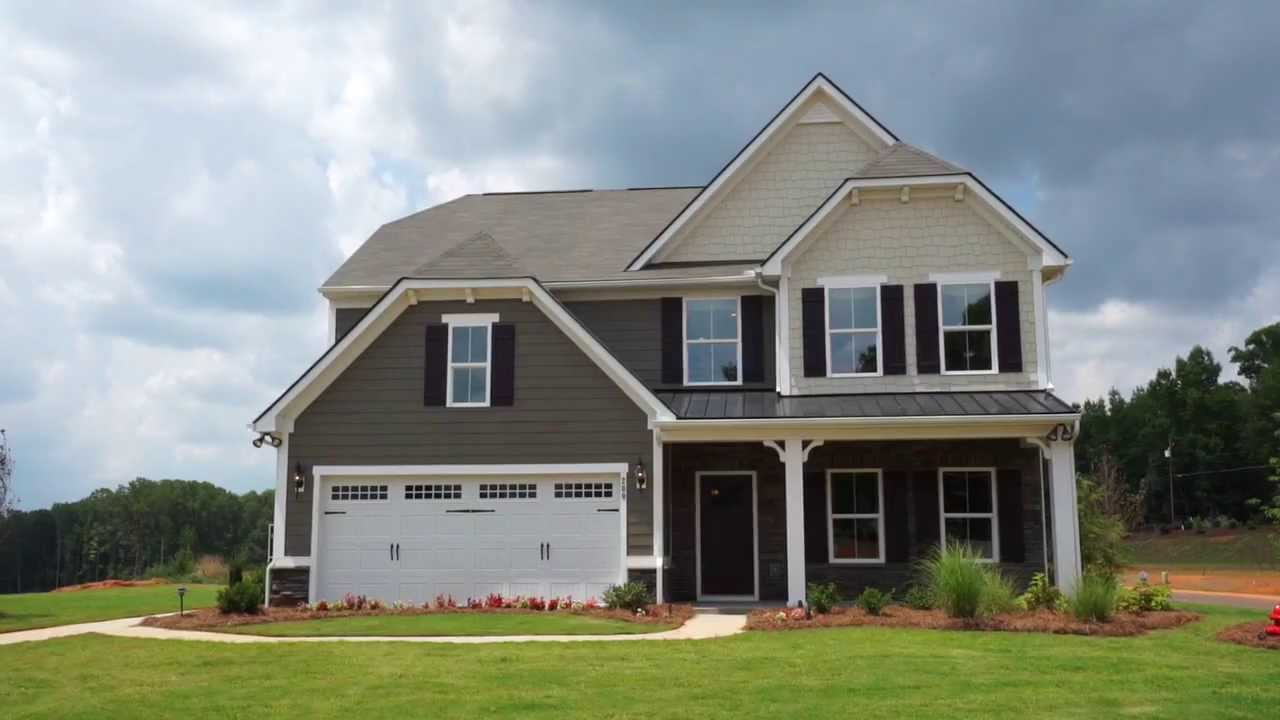 Ryan Homes - Genoa Model - YouTube