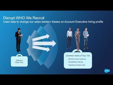 Destination Talent - Using Data to Disrupt Recruiting - Ana Recio of Salesforce