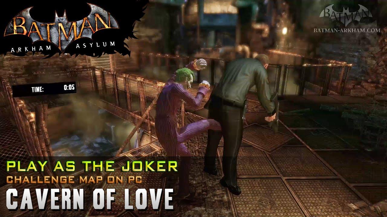 how to play as joker in arkham asylum ps3