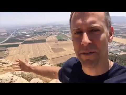 Holy Land Tour 2017 - From Cliffs in Jesus's Hometown