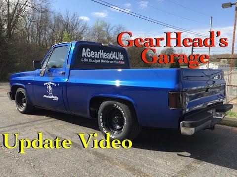 AGearHead4Life Update 24 April 2016 - LSx Test Stand, C10 LEDs & More