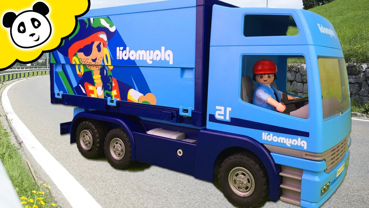playmobil lkw mit anh nger wohin muss die n chste. Black Bedroom Furniture Sets. Home Design Ideas