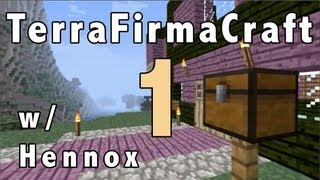 Terrafirmacraft ep. 1 - The Journey To The Town Of TerraFirma