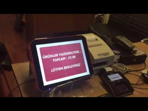 Verifone mx 915 TM H6000 entegrasyonu
