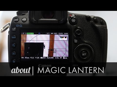Camera Accessories: Custom Software Magic Lantern for Canon DSLR Cameras Reviewed