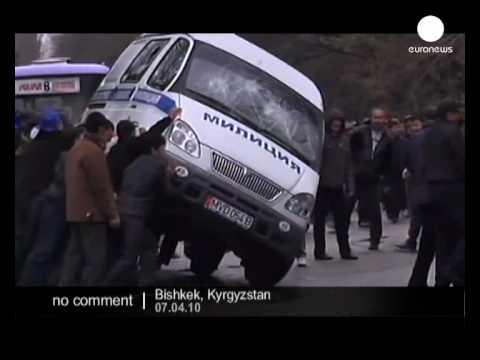 Violent protests in Kyrgyzstan