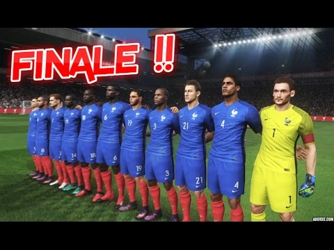 Hd france vs allemagne finale coupe d 39 europe 07 pes 2017 youtube - Final coupe d europe 2008 ...