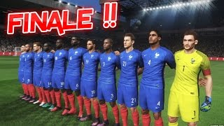 [HD] France vs Allemagne Finale Coupe d'Europe #07 PES 2017
