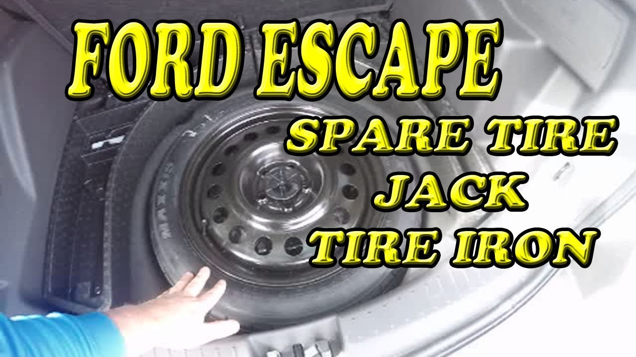 Ford Escape Where Is My Spare Tire Jack And Tire Iron Youtube