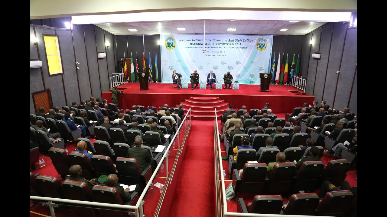 2018 Rwanda Security Symposium: Africa Cannot Work if Africans Cannot Change