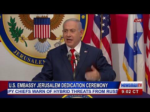 U.S. Opens Embassy in Jerusalem - FULL Dedication Ceremony