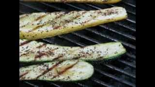 How To Grilled Zucchini & Yellow Squash