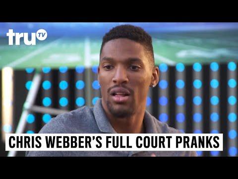 Chris Webber's Full Court Pranks  Shawne Merriman's Limo Messenger Deleted   truTV