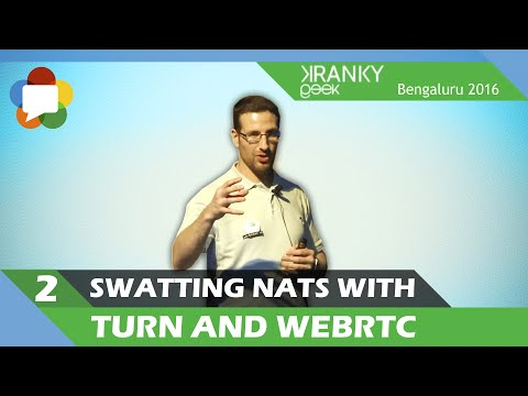 Swatting NATs with TURN and WebRTC