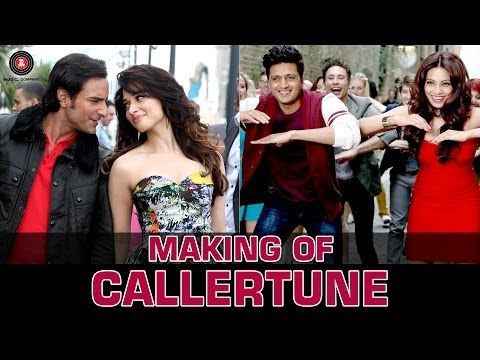 Making Of 'Callertune' Song | Humshakals | Saif, Ritiesh, Bipasha, Tamannah & Esha
