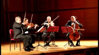 "J. Haydn-Quartet in D minor op.76 No.2,Hob.III:76"" Fifths"" (IV. Finale)-CAMERATA QUARTET"