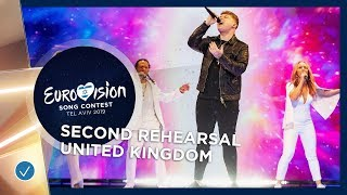 United Kingdom 🇬🇧 - Michael Rice - Bigger Than Us - Exclusive Rehearsal Clip - Eurovision 2019