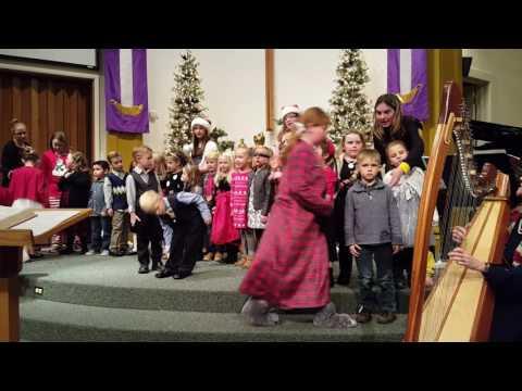 Colorado West Christian School Christmas Program - Kindergarden & 1st Grade
