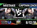 SSC 2018 Smash 4 - EMG | Mistake (Bayonetta) Vs. Captain Zack (Bayonetta) Wii U Losers Bracket