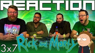 Rick and Morty 3x7 REACTION!!