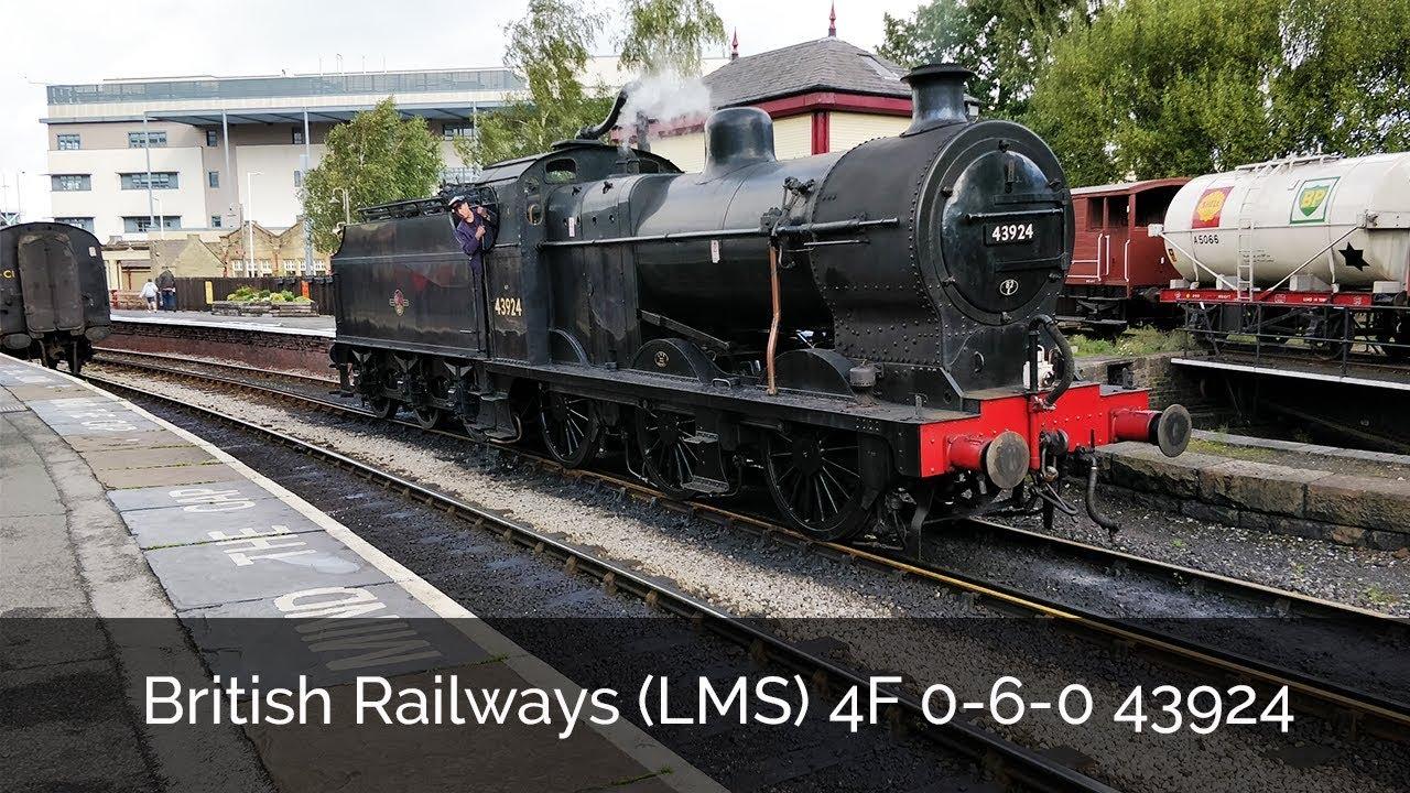 British Railways (LMS) 4F 0-6-0 43924