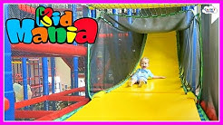 KID MANIA Playground Maze Family Fun Center