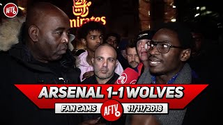 Arsenal 1-1 Wolves | I Blame Unai Emery For Not Firing Up Players! (Tade)