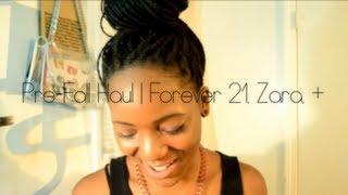 HAUL | Pre-Fall Haul feat. Asos, Zara, Forever 21, + Thumbnail