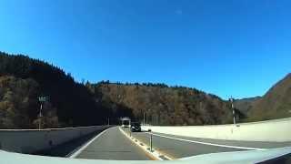 東海北陸自動車道⑤ 軽岡トンネル~荘川