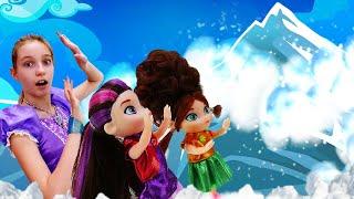 Принцесса София Прекрасная иволшебство для кукол Сказочный Патруль— Снежная пещера для Снежки