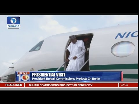 News@10: President Buhari Commissions Projects In Benin 07/11/16 Pt. 2