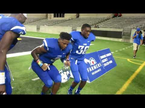 Sidney Lanier Poets Football Players Celebrating After Defeating The Robert E Lee Generals At ASU