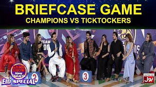 Briefcase Game | Game Show Aisay Chalay Ga Eid Special | TikTok Vs Champion