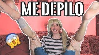 ME DEPILO PARA USTEDES MIS FANS LOS AMOOO!!!1