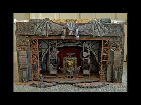 Paper Model of Wicked the Musical (National Tour Scenic Design)