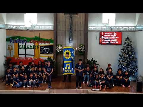 Psalty's Christmas Calamity - CHRISTMAS IS A TIME TO LOVE - Marikina UMC Children's Choir