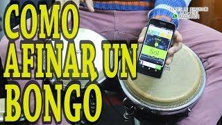 COMO AFINAR UN BONGO PEPON MUSIC
