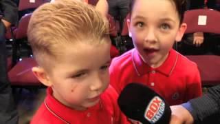 ABSOLUTELY HILLARIOUS! - PRINCE NASEEM HAMED INTERVIEWS BILLY JOE SAUNDERS' SON STEVE & NEPHEW BILLY