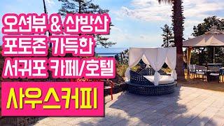 예쁜 제주카페 추천 서귀포 오션뷰 사우스커피