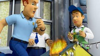 Sam el Bombero Español 🌟Corazones en llamas - Compilación de episodios 🔥 Dibujos animados