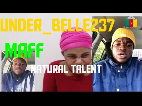 Reacting to Under_belle237 Cameroonian best entertaining comedian